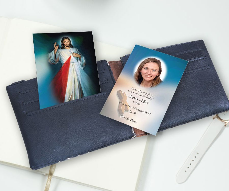 Memorial Wallet Card